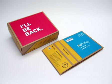 RePack laatikko. Kuva on lainattu osoitteesta www.originalrepack.com. Itse en olisi noin hienoa osannut ottaa.
