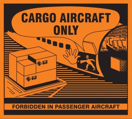 Cargo Aircraft Only-lappuja kuluu jatkossa enemmän. IATA näitä myy, jos ei keksi muualta ostaa. Kuvan lainasin myös IATAlta.